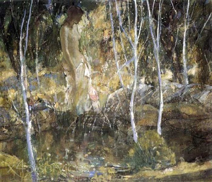 Richard Edward Miller - Badende - Bather 1
