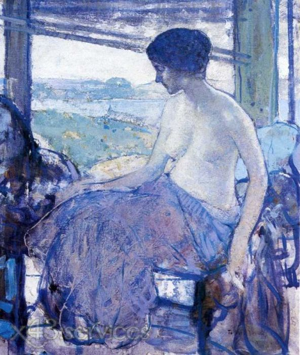 Richard Edward Miller - Das offene Fenster - The Open Window