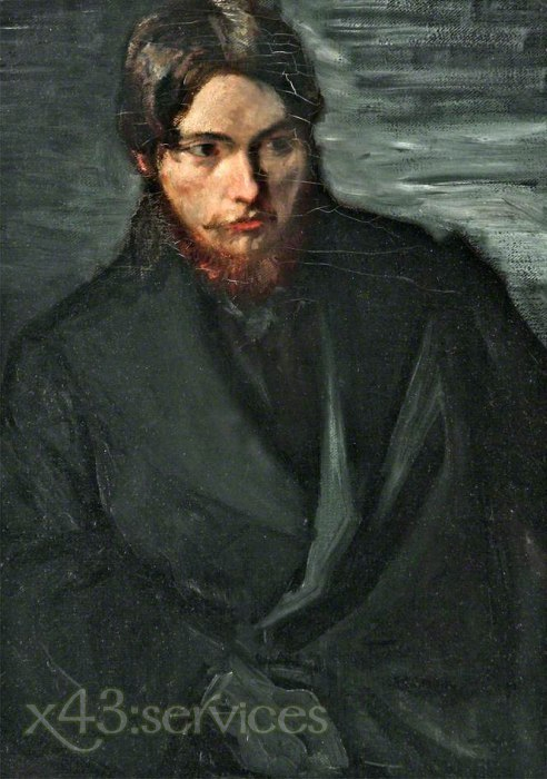 William Rothenstein - Augustus John