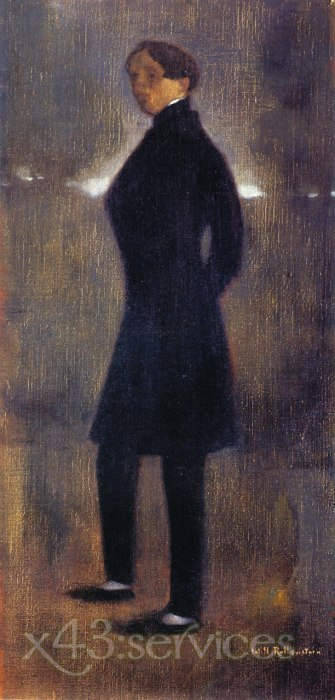 William Rothenstein - Charles Conder