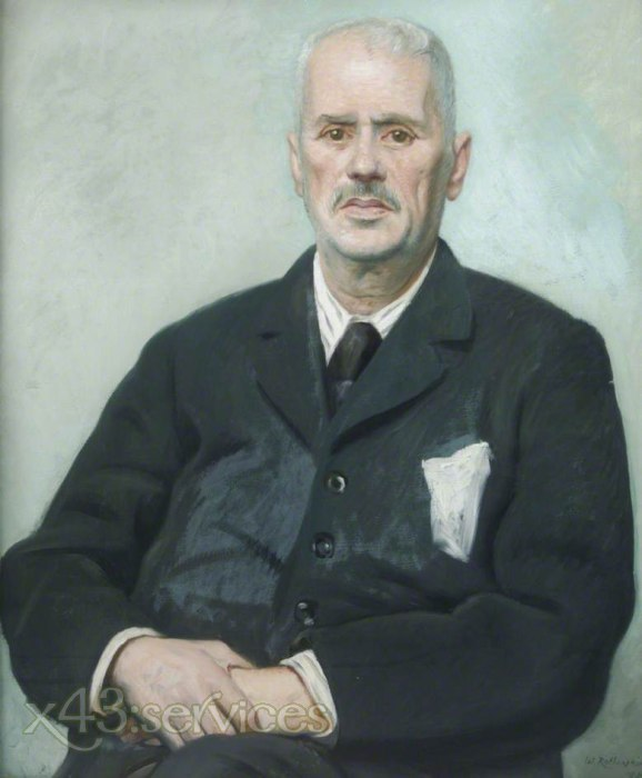 William Rothenstein - Claude Montefiore