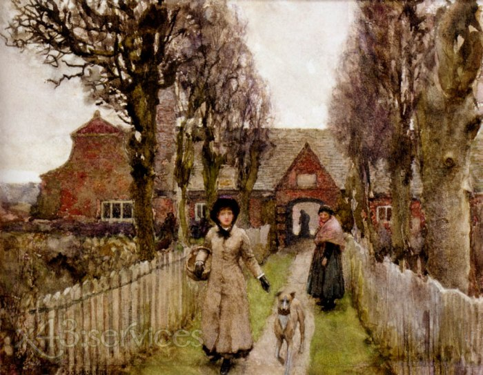 Sir George Clausen - Armenhaeuser - Gaywood Almshouses Kings Lynn