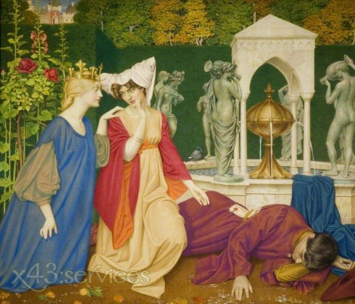 Joseph Edward Southall - Aendern des Briefs - Changing the Letter